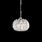Ideal Lux Calypso Chandelier 1 Luce Chrome IDE/044187
