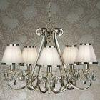 Interiors 1900 Oksana 5-Light Chandelier White 63515