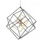 Hudson Valley 12 Light Pendant Aged Brass Roundout 1234-AGB-CE