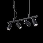 Ideal Lux Dynamite Spotlight Bar 4 Light Black IDE/231341