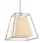 Ceiling Pendant Light Polished Nickel Hudson Valley Kyle 6917-PN-WS-CE