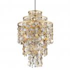 Ceiling Pendant 7 Light Gold / Silver Corbett Ambrosia 215-47-CE