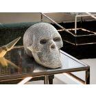 Calavera Skull Decorative Figure Silver