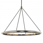 Hudson Valley 12 Light Pendant Aged Old Bronze Chambers 2745-AOB-CE
