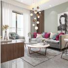 Ceiling Pendant 16 x G9, Antique Copper/Opal & Copper Glass Rocco LEK3492