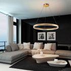 Schuller Helia 831622 LED Ceiling Pendant Gold Leaf Frame