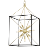 Hudson Valley 13 Light Chandelier Aged Brass Glendale 8920-AGB-CE