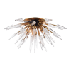 Semi Flush Ceiling Light Aged Brass Hudson Valley Sparta 9028-AGB-CE