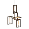 Ceiling Pendant 4 Light Bronze Troy Enigma F6184-CE