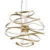 Ceiling Pendant LED Gold Leaf Corbett Calligraphy 216-42-CE