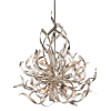 Ceiling Pendant 6 Light Silver Leaf Corbett Graffiti 154-46-CE