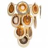 Wall Light Gold Leaf Corbett Rockstar 190-12-CE