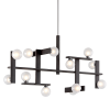 Multi-Arm Bar Pendant Light Forest Bronze Troy Network F6075-CE