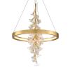 LED Ceiling Pendant Gold Leaf Corbett Jasmine 268-71-CE