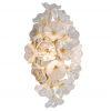 LED Wall Light Gold Leaf Corbett Jasmine 268-11-CE