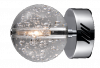 Avivo Bubbles WB1302-1A CH/CL 1 Light Wall Lamp Chrome Clear Glass Wall Fitting