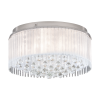 Eglo Montesilvano 39332 6 Light LED Flush Chrome Ceiling Fitting
