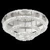 Eglo Toneria 39002 LED Crystal Ceiling Flush Light Polished Chrome