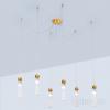 Kolarz Raggio 6 Light Ceiling Pendant Gold Leaf 6009.30630