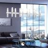 Kolarz Spigolo 10 Light Linear Bar Pendant Silver Leaf 6030.81051