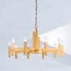 Kolarz Spigolo 10 Light Ceiling Chandelier Gold Leaf 6030.81030
