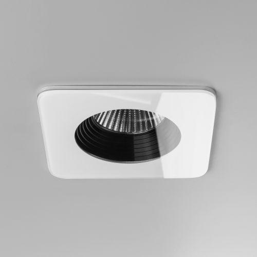 Astro Vetro Square Bathroom Downlight in White 1254014