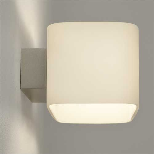 Astro Obround Indoor Wall Light in White Glass 1072001