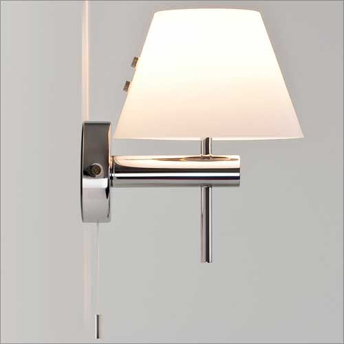 Astro Roma switched Bathroom Wall Light in Polished Chrome 1050002