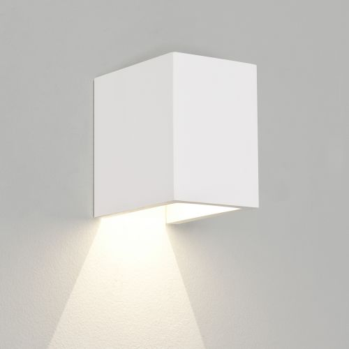 Astro Parma 100 LED 3000K Indoor Wall Light in Plaster 1187004