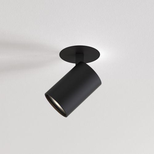 Astro Ascoli Trimless Indoor Spotlight in Matt Black 1286096