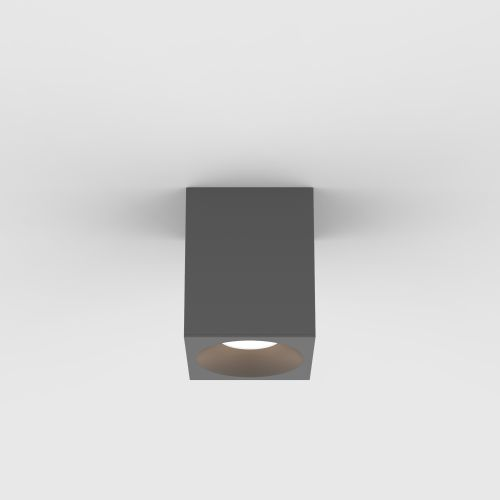 Astro Kos Square 100 LED Outdoor Downlight in Textured Grey 1326027