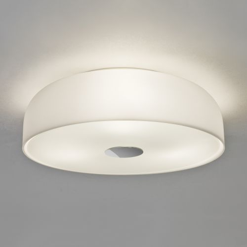 Astro Syros Bathroom Ceiling Light in White Glass 1328001