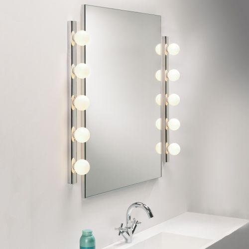 Astro Cabaret Five Bathroom Wall Light in Polished Chrome 1087003