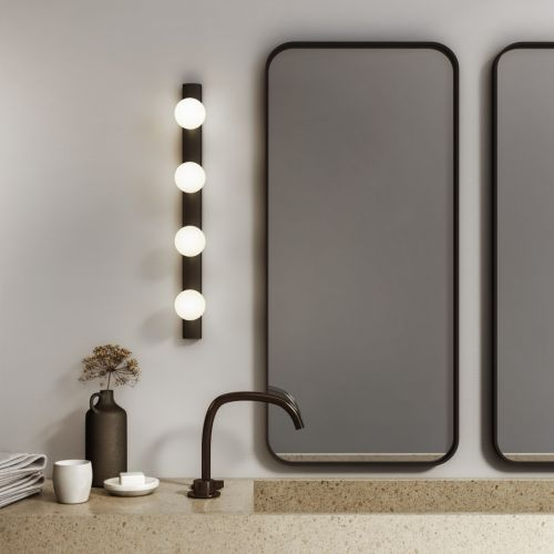 Astro Cabaret 4 II Bathroom Wall Light Matt Black 1087007