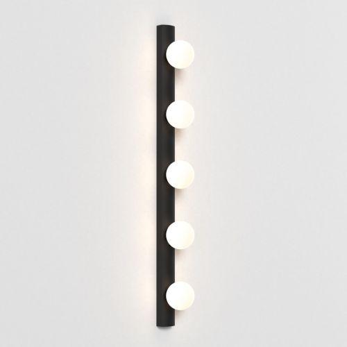 Astro Cabaret 5 II Bathroom Wall Light Matt Black 1087008