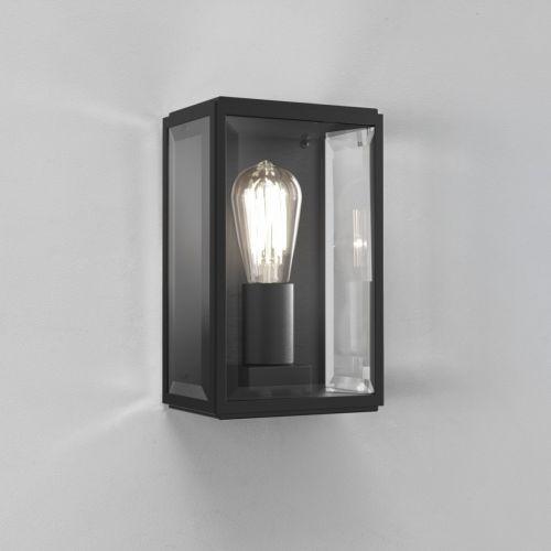 Astro Homefield 160 Outdoor Wall Light in Matt Black 1095001