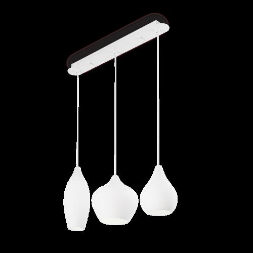 Ideal Lux Soft Chandelier 3 Light White IDE/111858