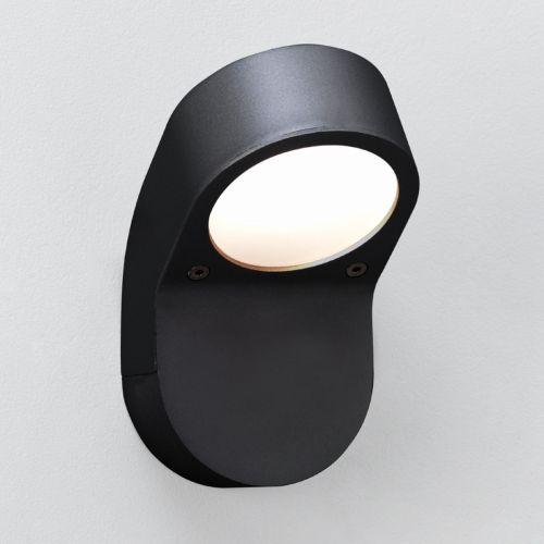 Astro Soprano Wall Outdoor Wall Light in Textured Black 1131004