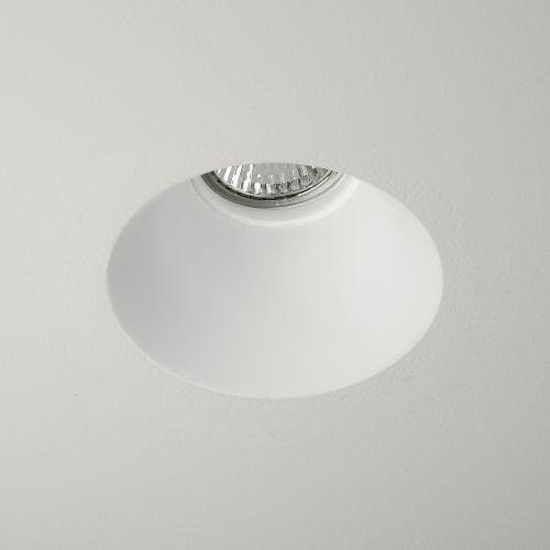 Astro Blanco Round Fixed Indoor Downlight in Plaster 1253004