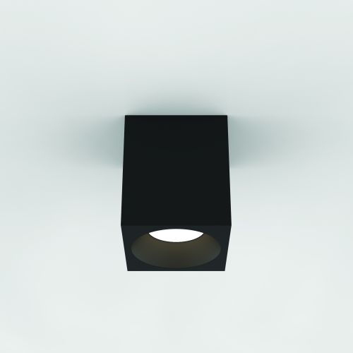 Astro Kos Square 140 LED Outdoor Downlight in Textured Black 1326020