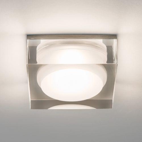 Astro Vancouver Square 90 Bathroom Downlight in Clear Acrylic 1229013