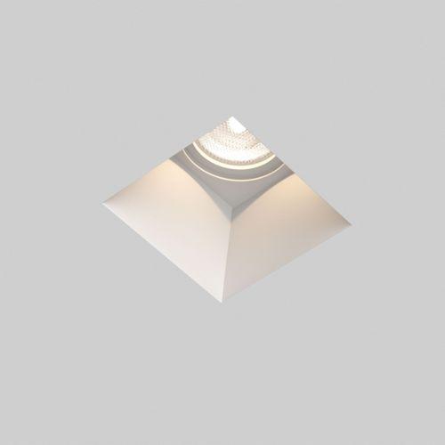 Astro Blanco Square Fixed Indoor Downlight in Plaster 1253002