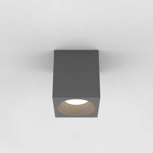 Astro Kos Square 140 LED Outdoor Downlight in Textured Grey 1326021