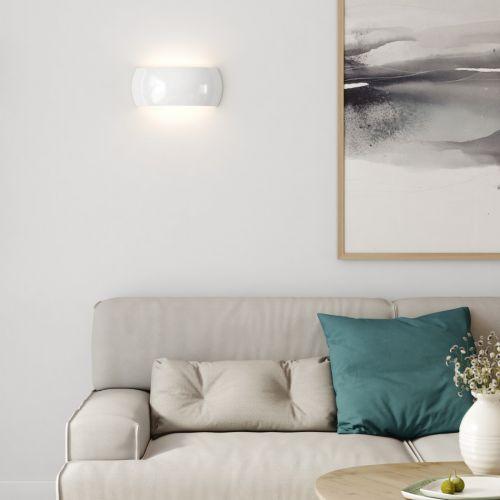 Astro Milo 300 Wall Light Gloss Glaze White 1299009