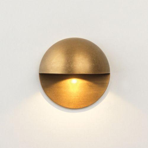 Astro Tivola LED Coastal Marker Light Coastal Brass 1338004