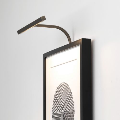 Astro Mondrian 300 Frame Mounted LED Indoor Picture Light in Bronze 1374014