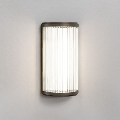 Astro Versailles 250 Phase Dimmable LED Bathroom Wall Light Bronze 1380025