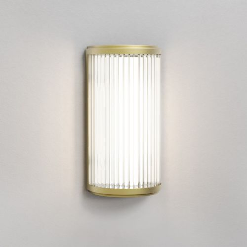 Astro Versailles 250 Phase Dimmable LED Bathroom Wall Light Matt Gold 1380026