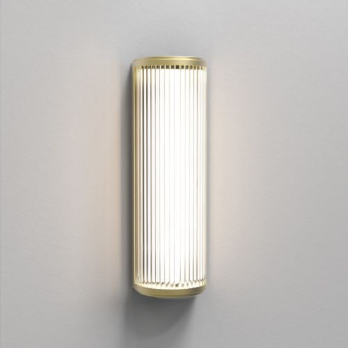 Astro Versailles 400 Phase Dimmable LED Bathroom Wall Light Matt Gold 1380031