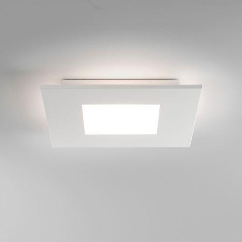Astro Zero Square LED Indoor Ceiling Light in Matt White 1382001